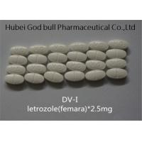 Buy cheap Letrozole 2.5mg Femara Anti Estrogen Steroids Ai Combat Breast Cancer Treatment from wholesalers