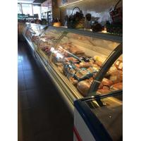 Buy cheap Food Warmer Deli Display Refrigerator With Glass Door For Hypermarket from wholesalers