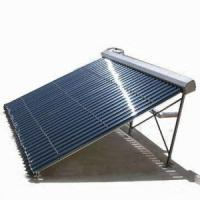 Buy cheap heat pipe solar power collector(EN12975,Solar Keymark,SRCC,ISO,CE) from wholesalers