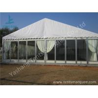 Buy cheap Transparent Glass Wall Outdoor Luxury Wedding Tents With Full Beautiful Decorations from wholesalers