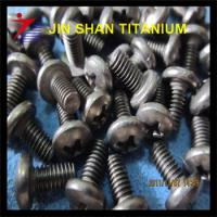 Buy cheap titanium hex screw from wholesalers