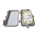 Buy cheap 4Core Splitter Junction Box FDB FTTH IP65 Fiber Optic Distribution Box from wholesalers