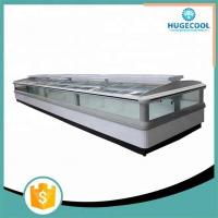 Buy cheap Commercial Supermarket Island Freezer , Island Display Fridge CE Certificated from wholesalers
