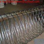 Buy cheap ISO9001 Galvanized Razor Wire BTO-22\CBT-65\Razor barbed wire\concertina razor wire/450mm/730mm/980mm Razor Wire from wholesalers
