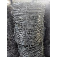 Buy cheap China supplier (BWG14x14 or BWG16x16 with1.6 mm 2.1mm 2.5mm wire diameter)hot dipped barbed wire (Direct Factory) from wholesalers