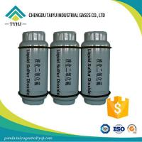 Buy cheap For a reducing agent factory, buy SO2 gas Sulfur Dioxide 99.9% from wholesalers