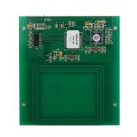 Buy cheap RS 232 Smart Card Reader For Access Control , 13.56 MHz ID Card Reader from wholesalers