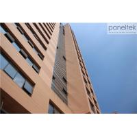 Buy cheap 18mm 30mm 20mm Thick Terracotta Cladding Building Facade , Exterior Cladding Materials from wholesalers