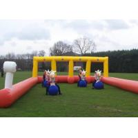 Buy cheap Waterproof Inflatable Sports Games / Safe Inflatable Bull Riders For Team Building from wholesalers
