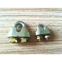 Buy cheap DIN 1142 Standard Wire Rope Clamp / Wire Rope Clip Fit Wire And Cable from wholesalers
