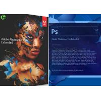 Buy cheap Art Design Adobe Graphic Software Photoshop CS 6 / CC / CS 5 Extended Version from wholesalers