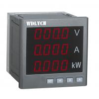 Buy cheap Single Phase Current Digital Panel Meter , Multifunction Panel Meter 80*80mm from wholesalers