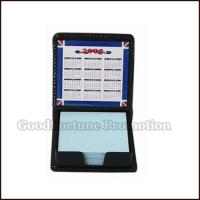 Buy cheap Promotional PU Material Memo pad holder customed gift logo product