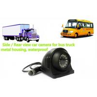 China 12 V CCD IP68 Side Rear View Car Reverse Camera for Bus , Truck on sale