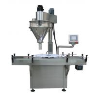 Buy cheap 400g / 900g Milk Chemical Powder Bottle Filling Machine 220V 3 Phase Easily To Wash from wholesalers