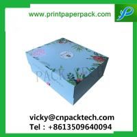 Buy cheap Bespoke Luxury Rigid Foldable Cardboard Packaging Flower Box Cosmetics Paper Box T-Shirt Boxes from wholesalers