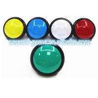 Buy cheap 33.5mm Hole Size Game Push Button With Led Light Wear Resistance from wholesalers