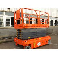 Buy cheap 13.7m Self Propelled Scissor Lift Electric Hydraulic Man Lift Platform product