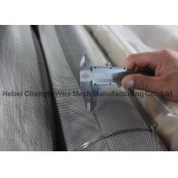Buy cheap Fine Stainless Steel Wire Cloth , Wire Diameter 0.3mm - 12.5mm Stainless Steel Metal Mesh product