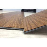 Buy cheap anti-bacterial wear resistant uv coating embossed PVC click vinyl flooring planks product