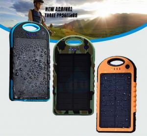 Buy cheap Portable Solar Panel Charger Waterproof 5000mAh 12000mah OEM/ODM product