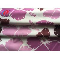 Buy cheap Dry Fit Printed Lycra Polyester Spandex Fabric For Bikini , Smooth Handfeel from wholesalers