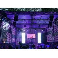 Buy cheap 128×128mm P4 Indoor Led Display , 1000HZ Curved Led Screen Wide View Angle from wholesalers