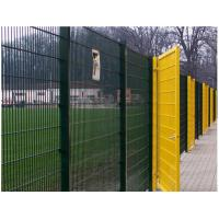 Buy cheap Boundary Wall Barbed Wire Fence High Tensile Mesh Polyester Coating Square Post from wholesalers
