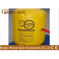 Buy cheap Inflatable 2T / Exhaust Air Jack 2000D Denier / Car Air Jack 1000D PVC from wholesalers