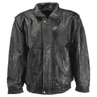 Buy cheap XXL XL L M S Thick lamb skin Leather Jacket Logos printing custom for adults product