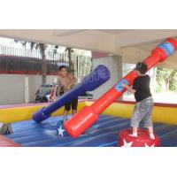 Buy cheap Red and Blue Gladiator Joust Inflatable Sports Games for Kids and Adults from wholesalers