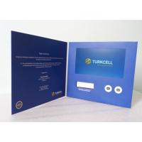 Buy cheap Advertising Promotional Custom Video Greeting Cards 7 Inch With OSD Language from wholesalers