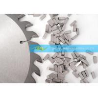 Buy cheap DIY Saw Blade Cemented Carbide Saw Tips Stability And Easy For Welding from wholesalers