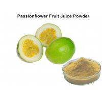 Buy cheap Custom Passionflower Fruit Juice Powder Improve Juice Taste And Scent For Food from wholesalers
