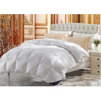 Buy cheap Eco - Friendly Hotel Quality White Duvet Covers King Size Goose Down from wholesalers