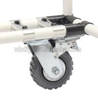 Buy cheap Intergral Type Base Industrial Caster Wheels Metal Galvanized For Tool Cart from wholesalers