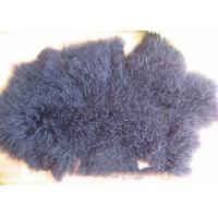 Buy cheap China Factory Cheap Wholesale Extra Long Sheepskin Tibetan Lamb fur Pelt rug for Home from wholesalers