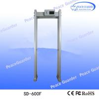 Buy cheap 2020 Anti Coronaviru COVID-19 Alarming security door frame walk through metal detector from wholesalers