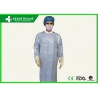 Buy cheap Non Sterile Universal Size CPE Plastic Gown Long Sleeve Apron For Hospital from wholesalers