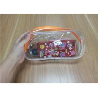 Buy cheap Promotional Reusable PVC Ziplock Plastic Bags For Packing The Daily Necessities from wholesalers