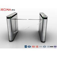 Buy cheap Shopping Mall Drop Arm Turnstile Gate 304 Stainless Steel 2 RFID Readers Windows product