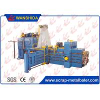 Buy cheap Horizontal Waste OCC Cardboard Baler Carton Waste Paper Plactic Baling Press Machine from wholesalers