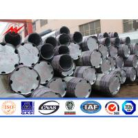 Buy cheap 11M Class 3 S500MC Galvanized Steel Pole For Electrical Power Transmission Line from wholesalers