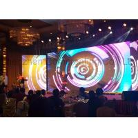 Buy cheap Large Stage Rental LED Display Wall Die Casting Aluminum Cabinet 500x500 1R1G1B P4.81mm from wholesalers