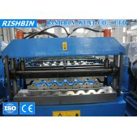 Buy cheap Carbon Steel Arch Culvert Roof Panel Metal Roll Forming Machine with Servo Motor from wholesalers
