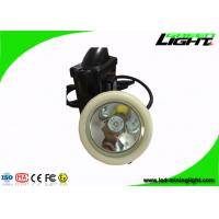 Buy cheap Rechargeable LED Miners Cap Lamp Automatic Power - Off With Black And White Color from wholesalers