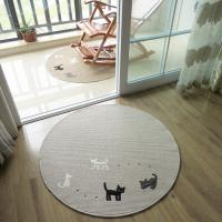 Buy cheap Anti-Slip Washable Floor Mat With Cat Logo Floor Covering Carpet From Carpets Factory from wholesalers