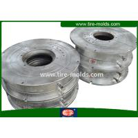 OEM CNC Semi Steel Radial Tyre Mould , Steel Battery Car Mold Tyres