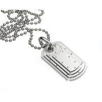 Buy cheap high quality customized Fashion 316l stainless steel chains jewellery mens necklace from wholesalers