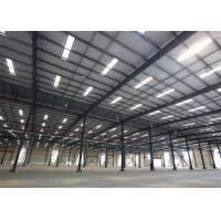 Buy cheap Metal Building Construction Projects Industrial Workshop Designs Prefabricated Steel Structure from wholesalers